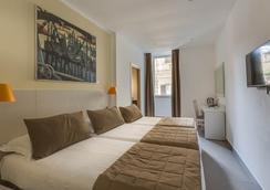 特雷維皇宮酒店 - 羅馬 - 臥室