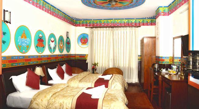 Kathmandu Eco Hotel - 加德滿都 - 臥室