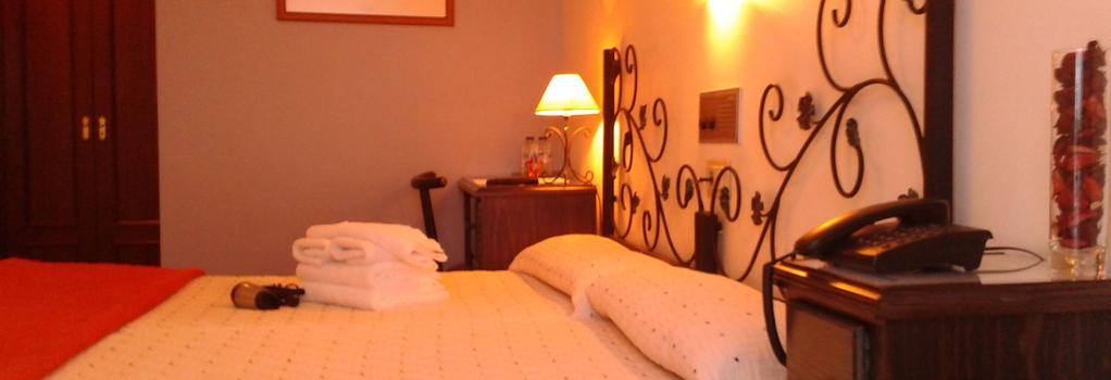 Hotel B-Nor - 聖地亞哥-德孔波斯特拉 - 臥室