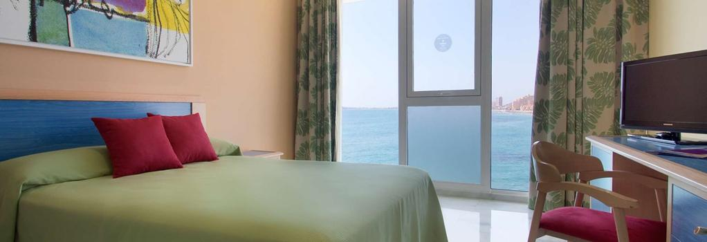 Hotel Servigroup Galúa - La Manga del Mar Menor - 臥室