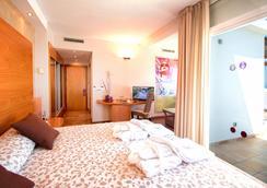 瑟維集團濱海沙灘酒店 - Mojacar - 臥室