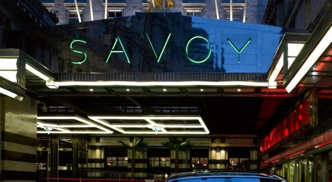 The Savoy, A Fairmont Managed Hotel - 倫敦 - 建築
