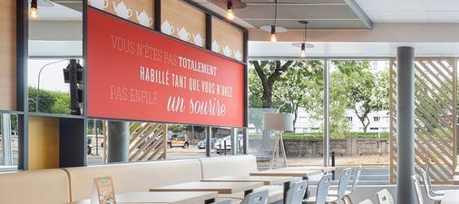 馬賽埃斯塔克B&B酒店 - 馬賽 - 餐廳