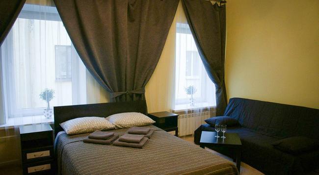 Mini Hotel Belaya Noch - 聖彼得堡 - 臥室