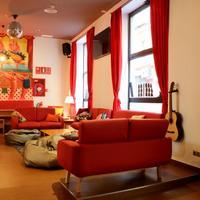Ok Hostel Madrid Lobby Lounge