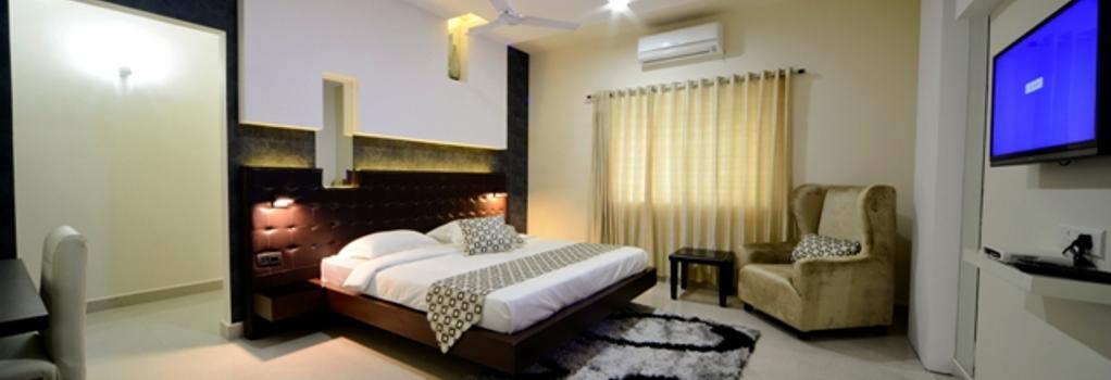 Serenity Inn La Vista - 海得拉巴 - 臥室