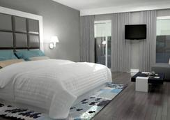 西迪馬魯夫歐洲之星酒店 - 卡薩布蘭卡 - 臥室