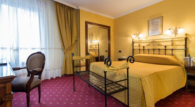 Hotel Fernán González - 布爾戈斯 - 臥室