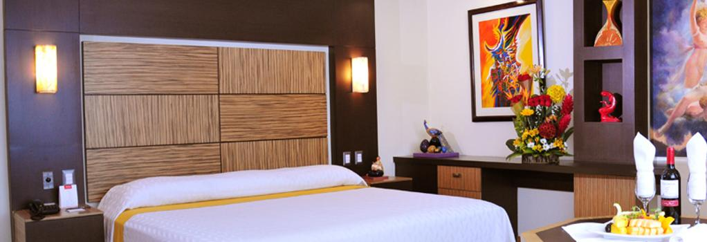 Hotel Galeria de Arte Man-Ging - 瓜亞基爾 - 臥室