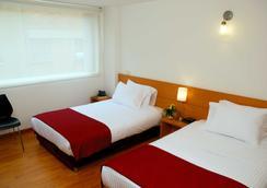斯坦茲亞阿比特爾56酒店 - Bogotá - 臥室