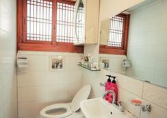 北村丸韩屋旅馆 - 首爾 - 浴室