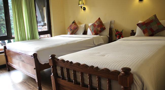 Lake View Resort - 博卡拉 - 臥室
