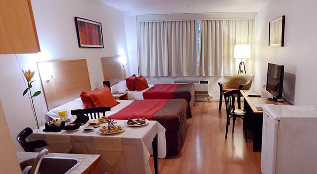 Apart Hotel & Spa Congreso - 布宜諾斯艾利斯 - 臥室