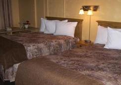 Hotel Les Mouettes - Sept-Îles - 臥室
