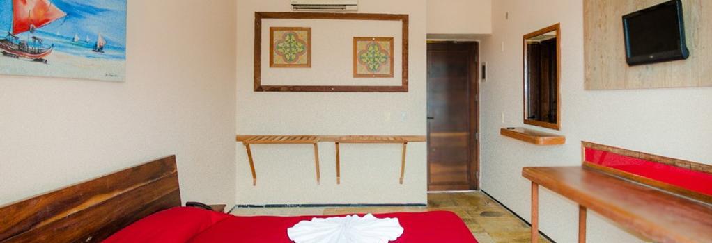 Hotel Porto Futuro - 福塔萊薩 - 臥室