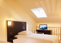 大洋洲艾斯卡勒比亞麗茲酒店 - 比亞里茨 - 臥室