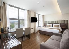 桑托斯杜蒙奇才酒店 - 里約熱內盧 - 臥室