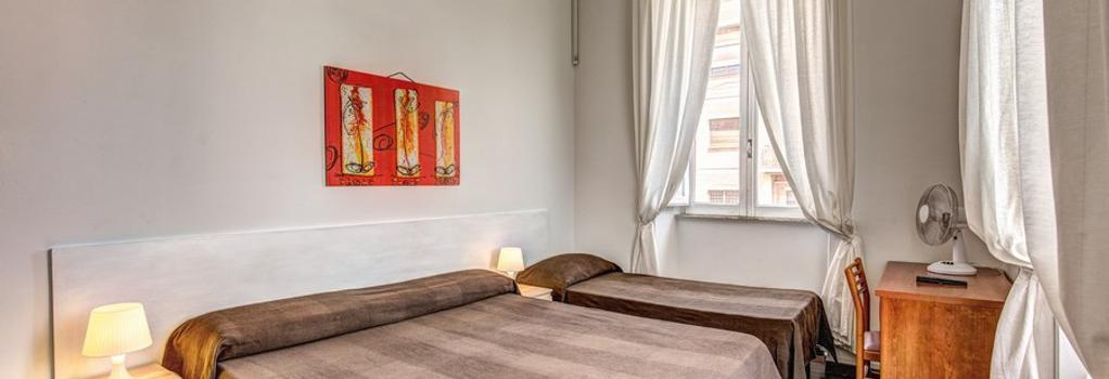 Hotel Lodi - 羅馬 - 臥室