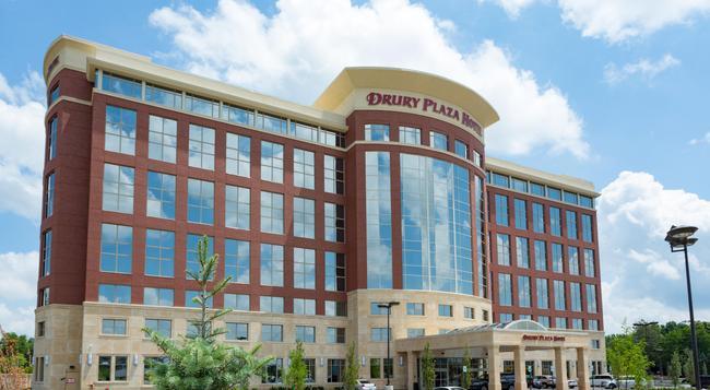 Drury Plaza Hotel Indianapolis Carmel - 印第安納波利斯 - 建築