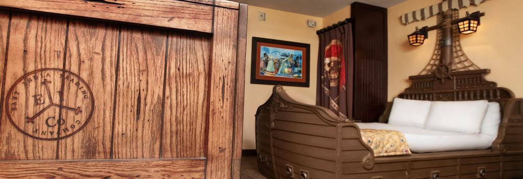 Disney's Caribbean Beach Resort - 博偉湖 - 臥室