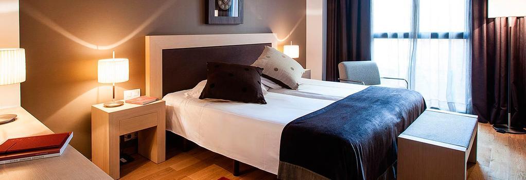 Hotel Villa Emilia - 巴塞隆拿 - 臥室