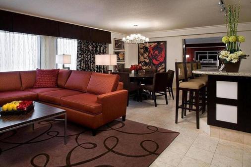 Harrah's Las Vegas Hotel & Casino - 拉斯維加斯 - 客廳