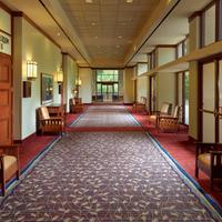 Emory Conference Center Hotel Hallway