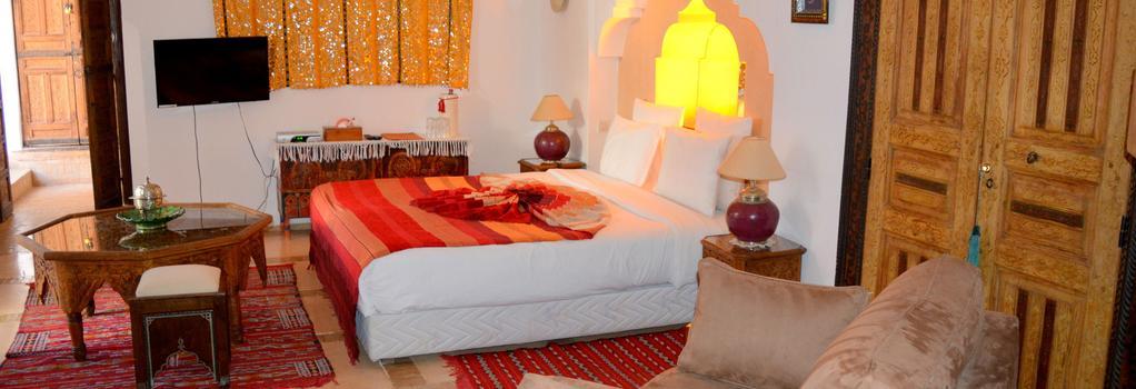 Riad Ghali & Spa - 馬拉喀什 - 臥室