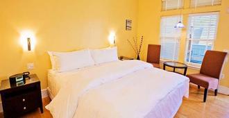 太平洋之藍旅館 - 聖克魯茲 - 臥室