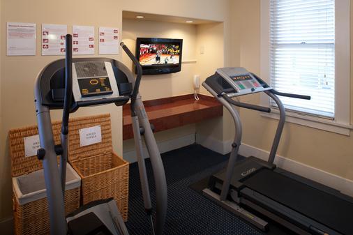 瓦斯燈華美達酒店與會議中心 - 聖地亞哥 - 健身房