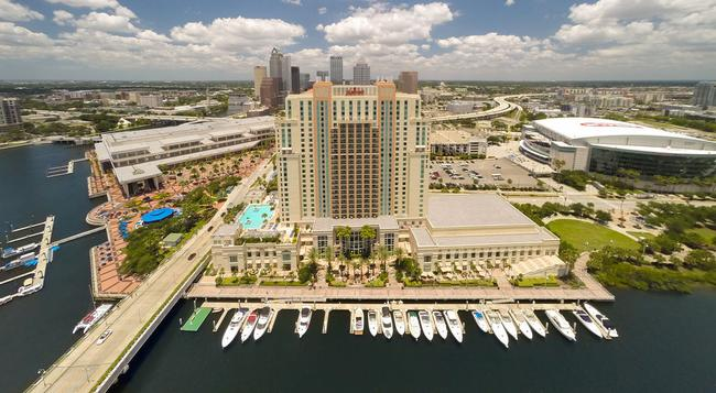 Tampa Marriott Waterside Hotel and Marina - 坦帕 - 建築
