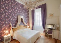 赫萊斯克蘭斯酒店 - 佛羅倫斯 - 臥室