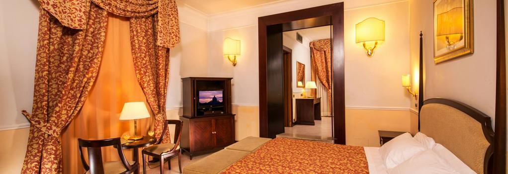 Hotel Nizza Roma - 羅馬 - 臥室