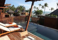 麥蘇梅海灘溫泉度假酒店 - 蘇梅島 - 游泳池