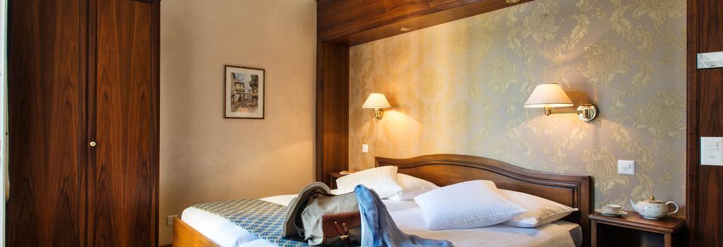 Hotel International au Lac - 盧加諾 - 臥室
