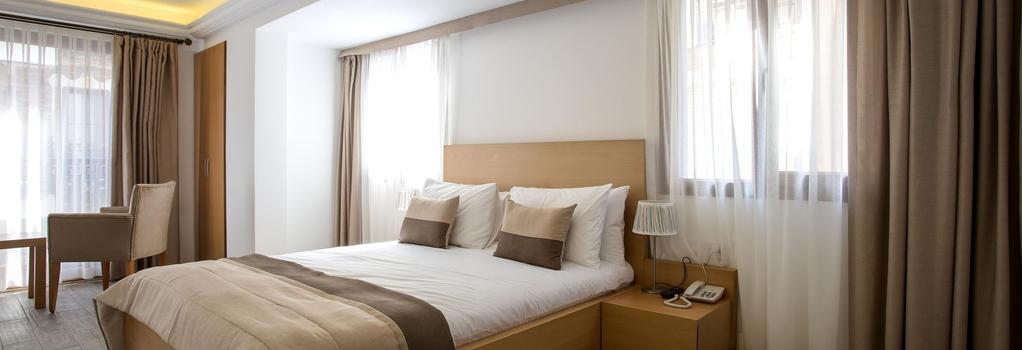 MB City Hotel - 伊茲密爾 - 臥室