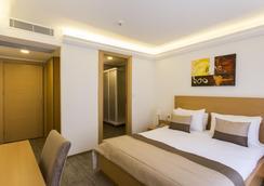 城市酒店 - 伊茲密爾 - 臥室