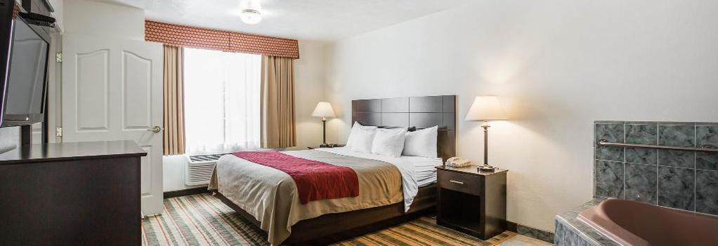 Visalia Sequoia Hotel - 維塞利亞 - 臥室
