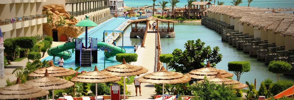 Panorama Bungalows Aqua Park Hurghada - 赫爾格達 - 海灘