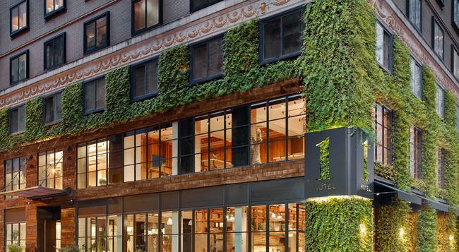 1 Hotel Central Park - 紐約 - 建築
