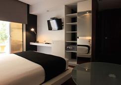 蒙得维的亚唐精品酒店 - 蒙得維的亞 - 臥室