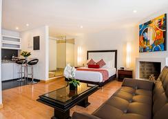 烏薩奎恩山間小屋酒店 - Bogotá - 臥室