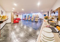 烏薩奎恩山間小屋酒店 - Bogotá - 餐廳