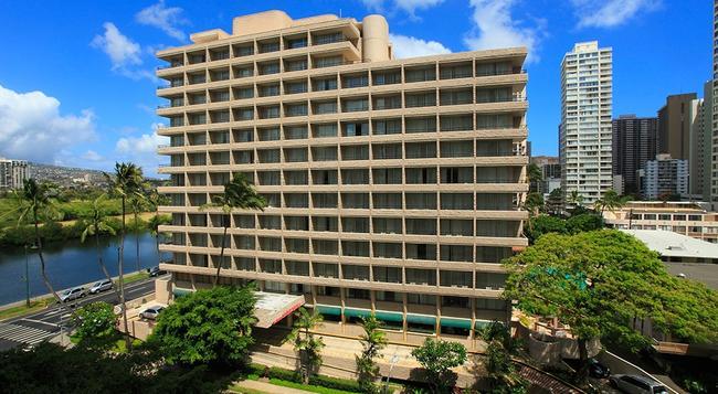 Waikiki Sand Villa Hotel - 檀香山 - 建築
