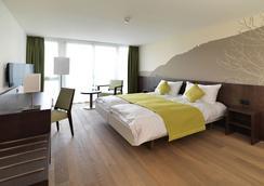 因特拉肯阿托斯酒店 - 因特拉肯 - 臥室