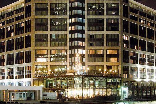 金絲雀碼頭不列顛國際大酒店 - 倫敦 - 建築