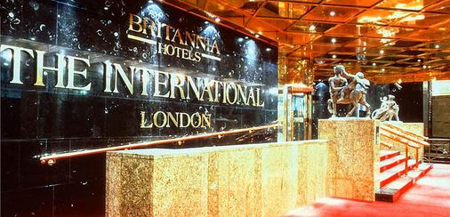 金絲雀碼頭不列顛國際大酒店 - 倫敦 - 櫃檯