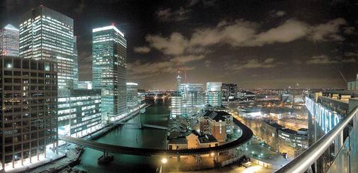 金絲雀碼頭不列顛國際大酒店 - 倫敦 - 室外景