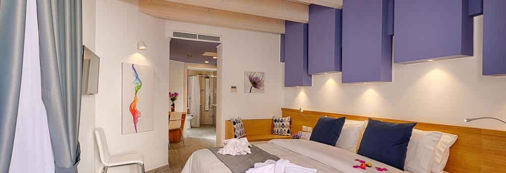 Hospitality Hotel - 巴勒莫 - 臥室