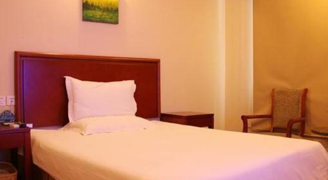Greentree Inn Jiangsu Yancheng Dafeng Huanghainorth Road Changxins) Road Business Hotel - 鹽城 - 臥室